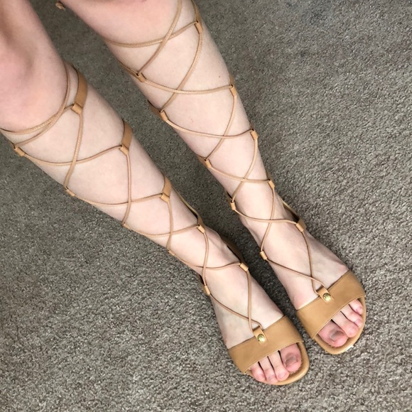 9e3a1c6cb63 MICHAEL KORS gladiator sandals! M 5ad234163afbbd6861bdf3c5
